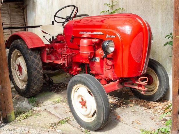 1962 Porsche Junior Tractor