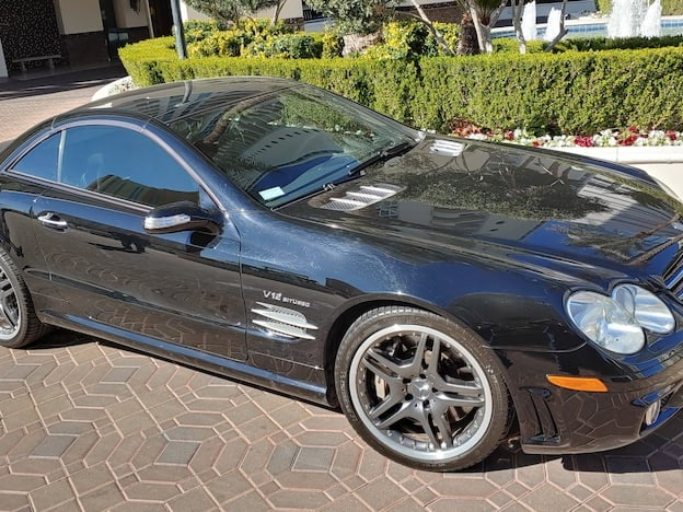 2008 Mercedes-Benz SL65 AMG Convertbile