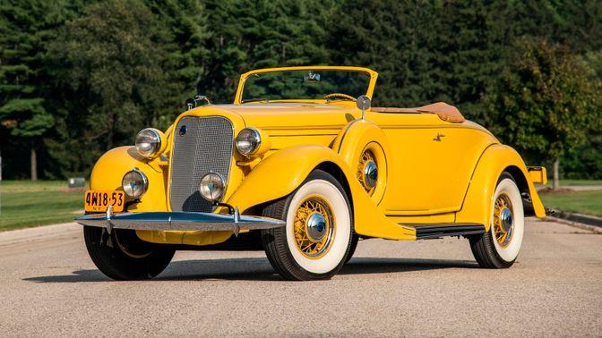 1935 Lincoln Model K V-12 Roadster