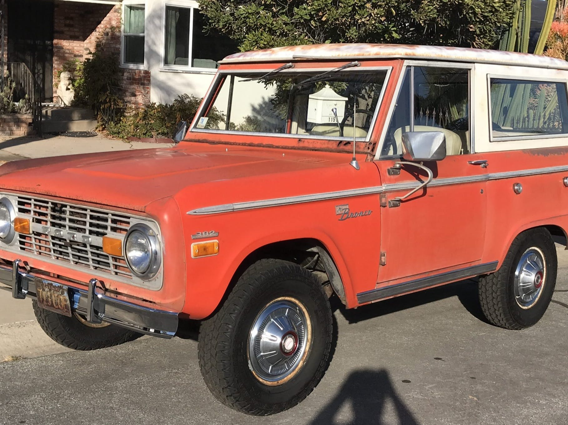 1971 Ford Bronco Sport Project