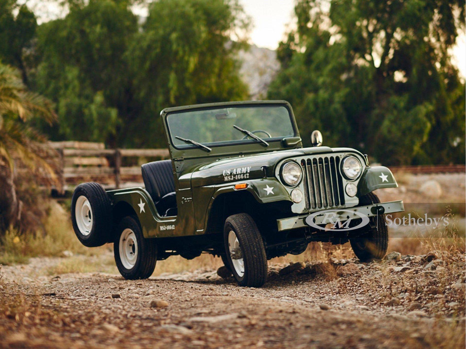 1973 Jeep CJ-5 4×4 Utility