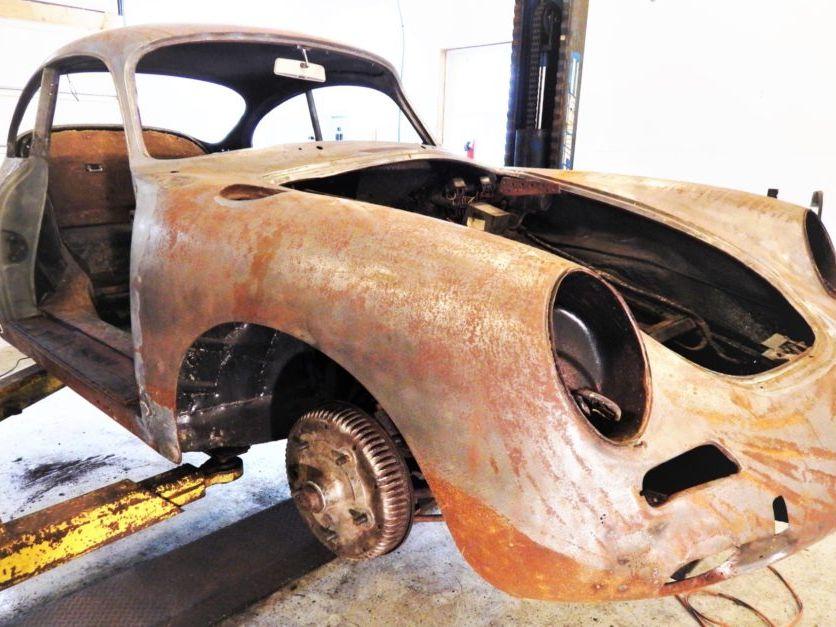 1962 Porsche 356B Coupe Project
