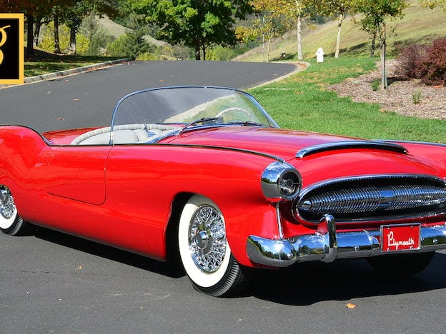 1954 Plymouth Belmont Concept Car