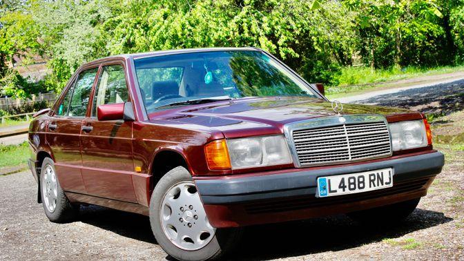 1993 Mercedes 190 E