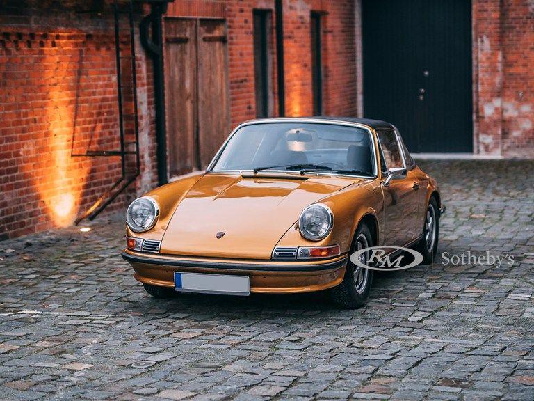 1972 Porsche 911 S 2.4 Targa