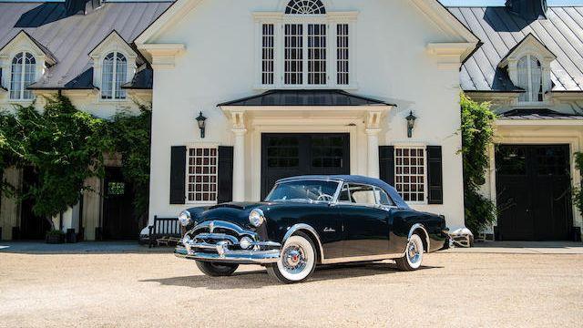 1952 Packard Caribbean Custom Convertible