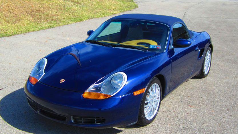 2002 Porsche Boxster S Cabriolet