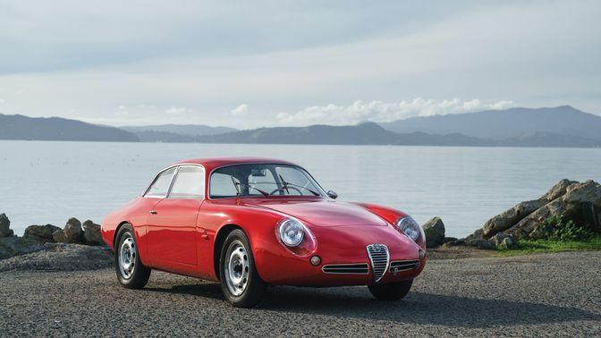 1962 Alfa Romeo Giulietta Sz II 'Coda Tronca' by Zagato