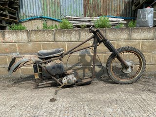 1954 Triumph 'Rolling Chassis'