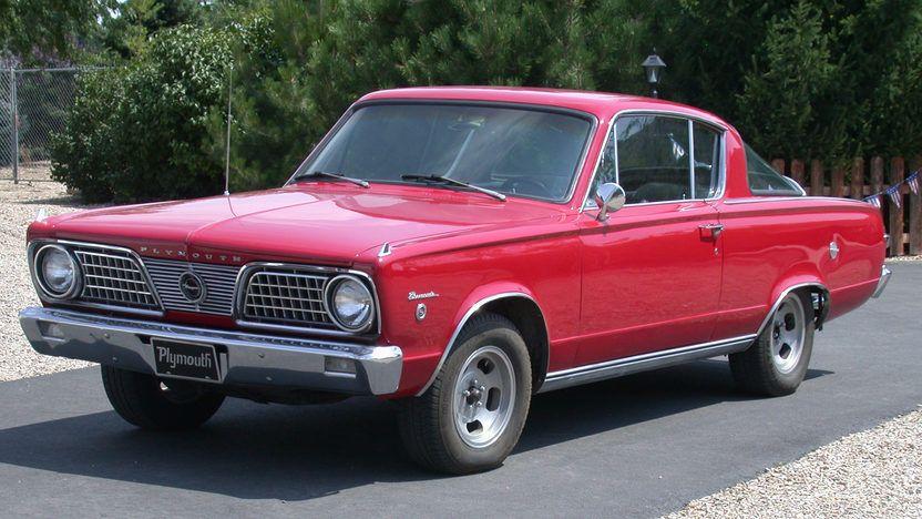 1966 Plymouth Barracuda Formula S Fastback