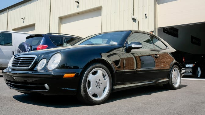 2001 Mercedes-Benz CLK55 AMG
