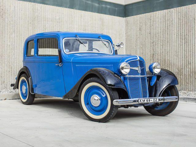 1936 Adler Trumpf Junior Sport