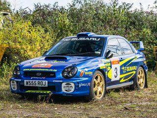 2001 Subaru Impreza Wrx Sti Ra - Group A Rally Car