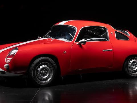1959 Fiat-Abarth 750 Record Monza Coupé
