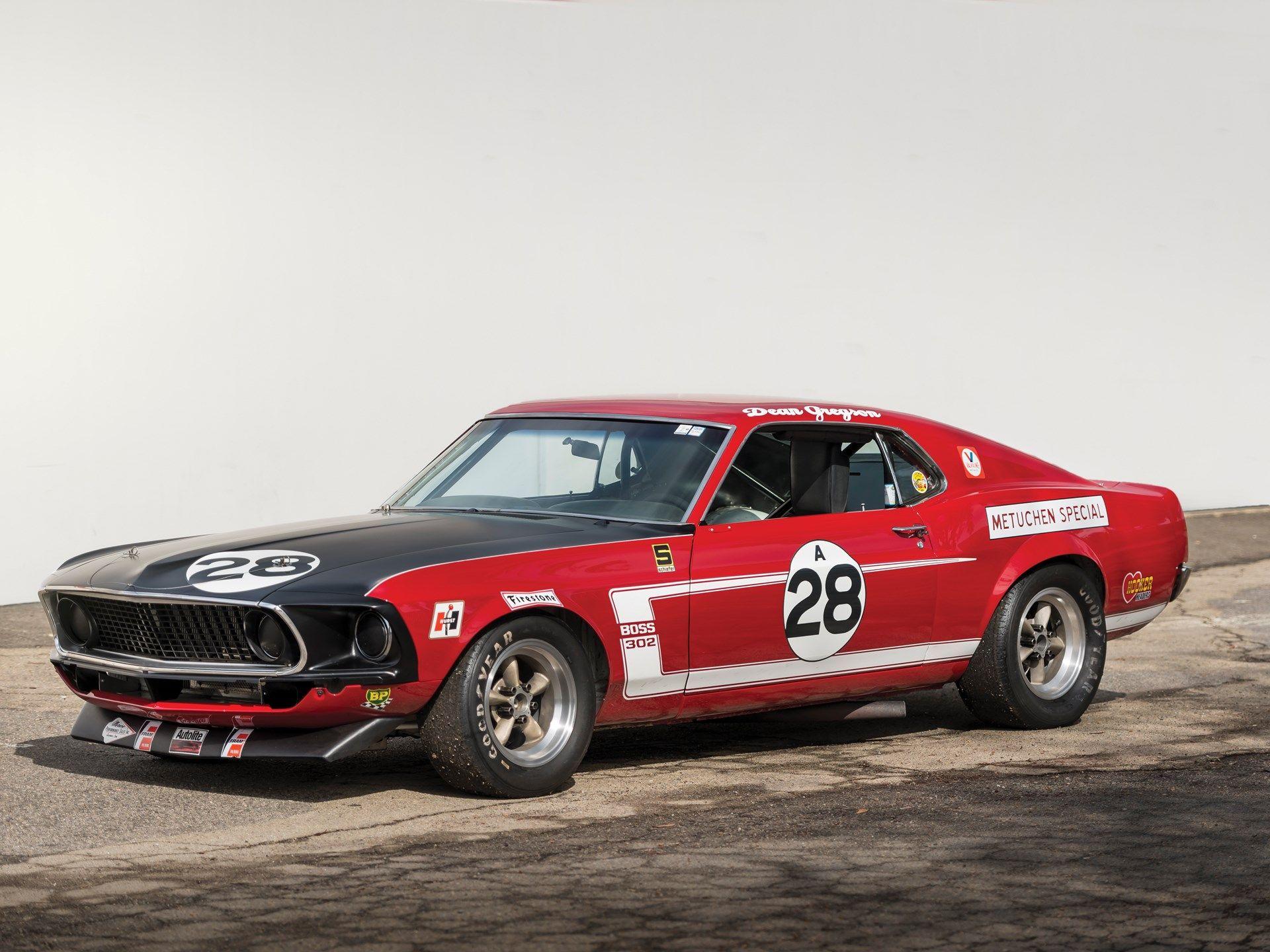 "1969 Tasca-Ford Mustang Boss 302 Trans Am ""Metuchen Special"""