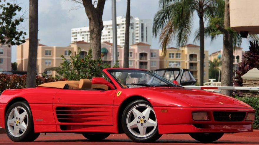 1995 Ferrari 348 Spider Vin Zffrg43a5s0099255 Classic Com