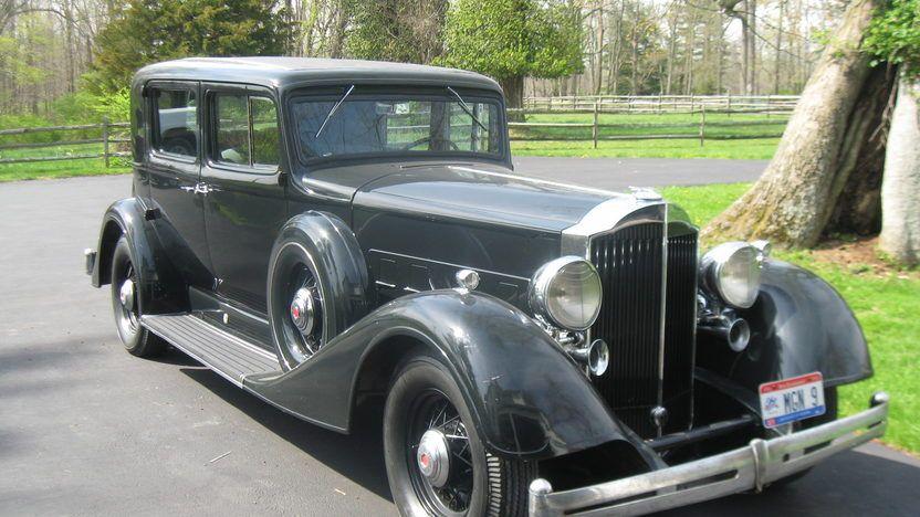 1934 Packard 1101 Super Eight