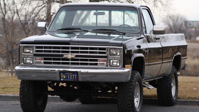1985 Chevrolet K10 Scottsdale 4×4