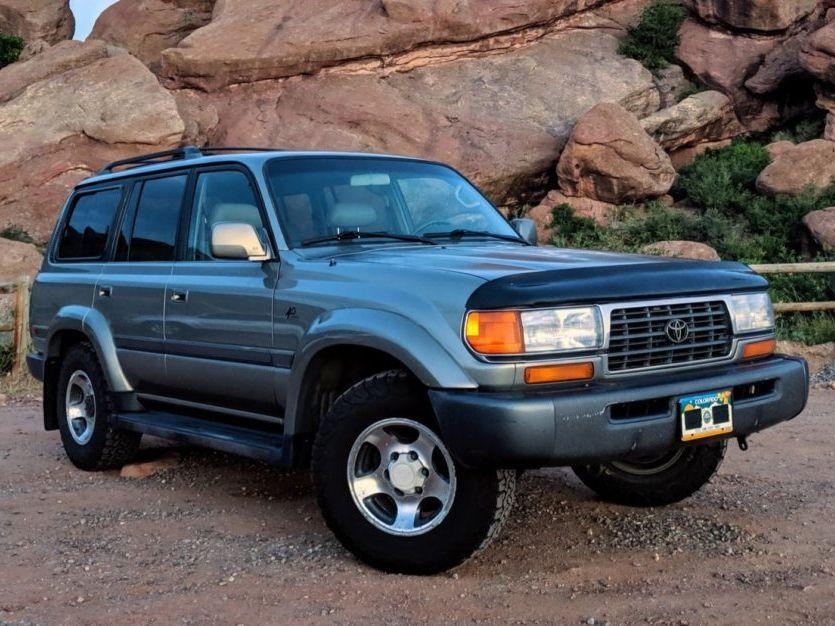 1997 Toyota Land Cruiser 40TH Anniversary Edition