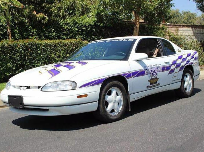 1995 Chevrolet Monte Carlo Brickyard 400 Pace Car