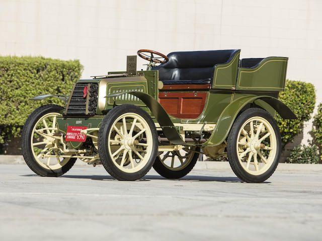 1902 Boyer 9HP Two-Cylinder Rear Entry Tonneau