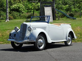 1936 Ford 10 Model Cx De Luxe Touring