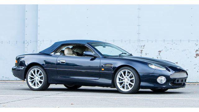 2002 Aston Martin Db7 V12 Vantage Volante Vin Scfab32312k402819 Classic Com