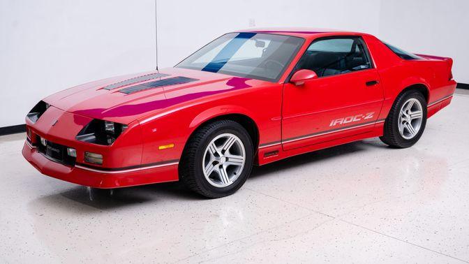 1989 Chevrolet Camaro Iroc-Z Coupe