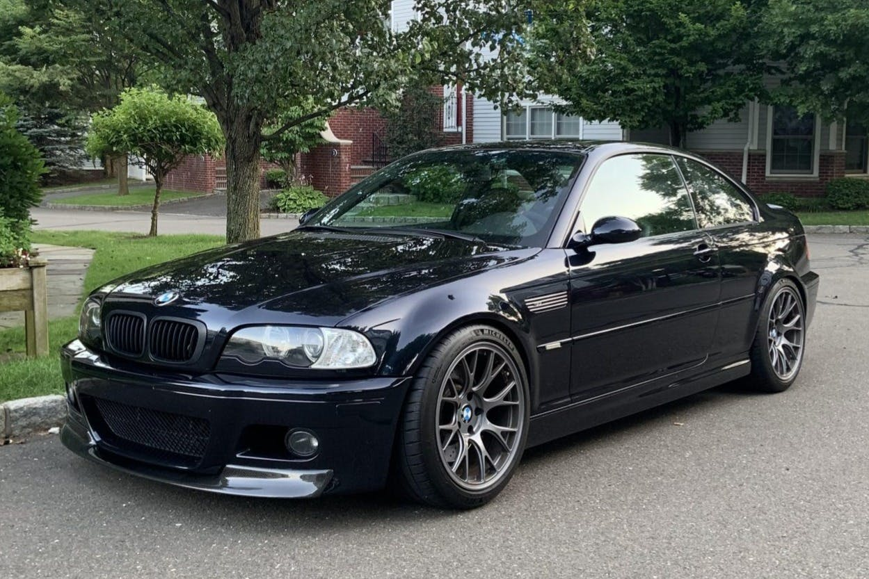 2005 Bmw M3 Coupe Competition Package Vin Wbsbl93415pn63309 Classic Com