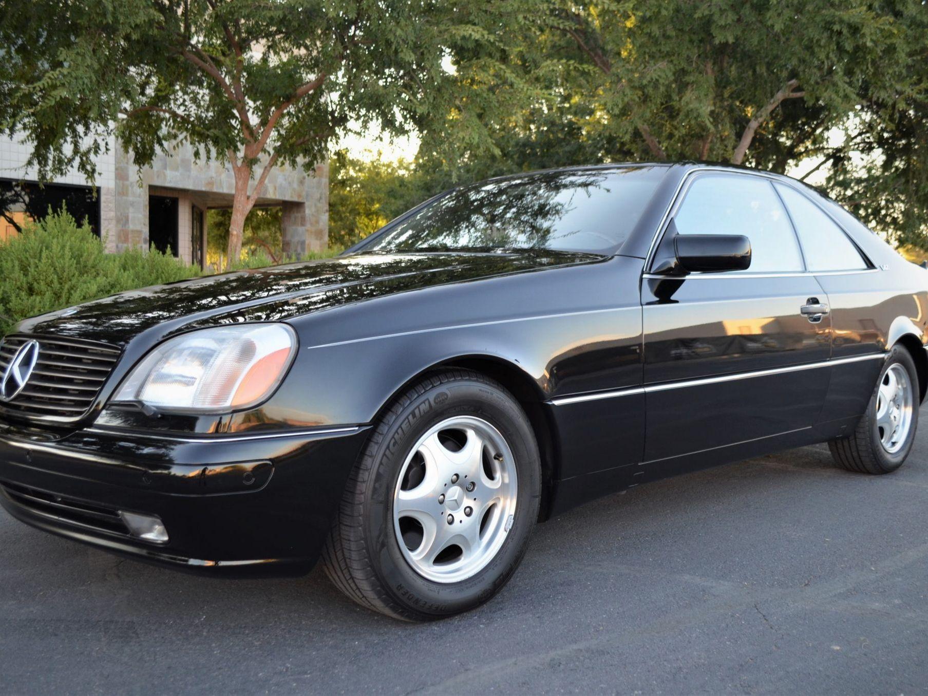 1999 Mercedes-Benz CL600