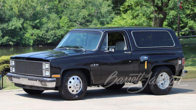 1982 Chevrolet Blazer Dually