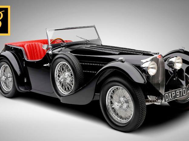 1937 Bugatti T57SC Corsica Sports Tourer