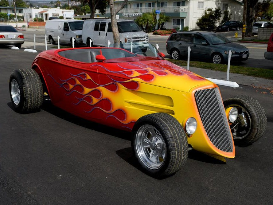 1934 Ford Custom Roadster