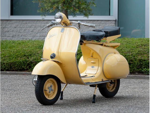 1955 Piaggio Vespa 150 Vl Struzzo Motor Scooter