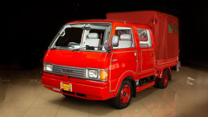 1992 Mazda Bongo Brawny Quad-Cab Fire Truck