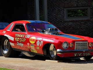 1976 Dodge Charger Tommy Ivo Funny Car