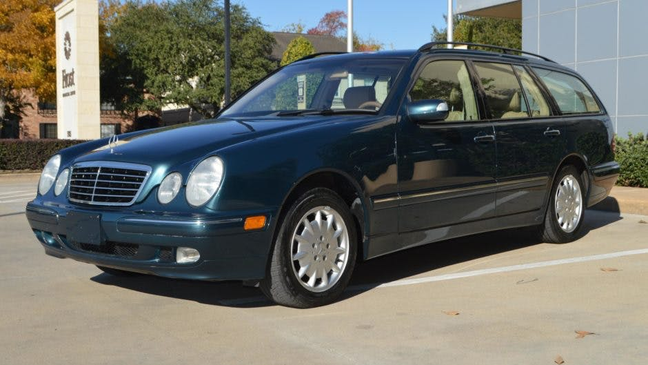2002 Mercedes Benz E320 4matic Wagon Vin Wdbjh82j62x071844 Classic Com
