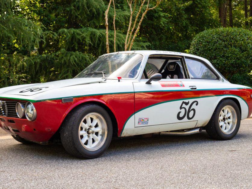 1973 Alfa Romeo Gtv Race Car