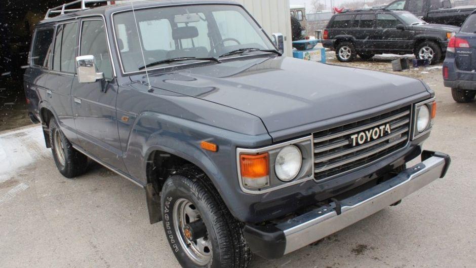1987 Toyota Land Cruiser HJ60 Diesel