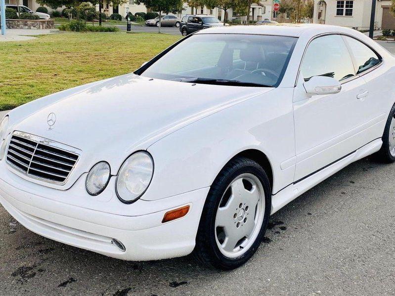 2001 Mercedes-Benz CLK55 AMG Coupe