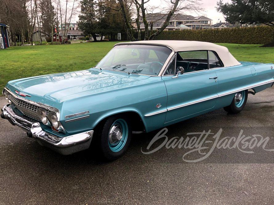 1963 Chevrolet Impala SS 409 Convertible