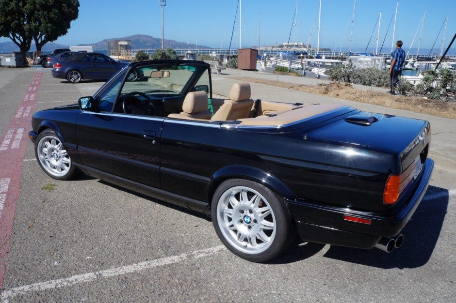 1992 bmw 325i convertible 5 speed vin wbabb131xnec05851 classic com 1992 bmw 325i convertible 5 speed vin