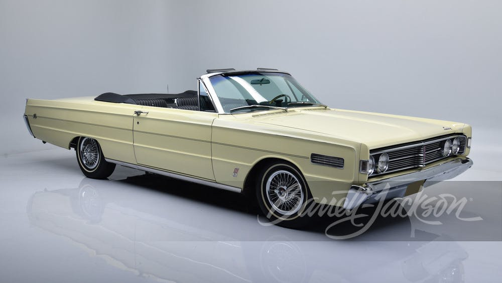 1966 Mercury S55 Convertible