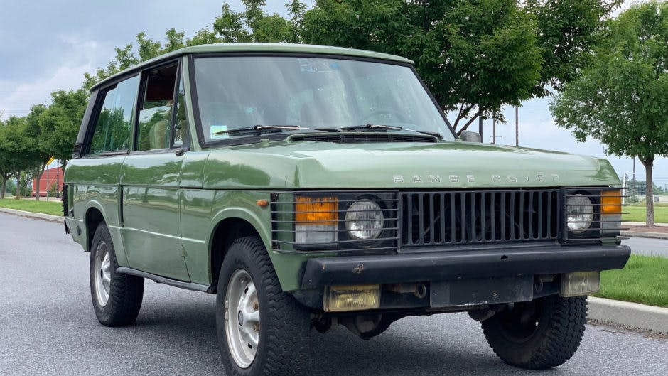 1980 Land Rover Range Rover Classic