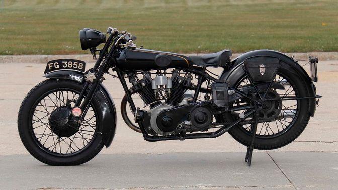 1928 Brough Superior 680 Ohv