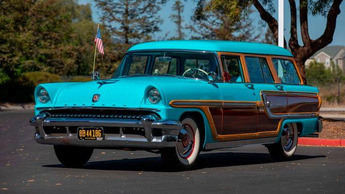1955 Mercury Monterey Woody Wagon