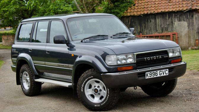 1993 Toyota Land Cruiser Series 80 Vx