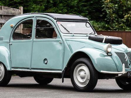 1964  Citroën 2CV Sahara Az 4X4