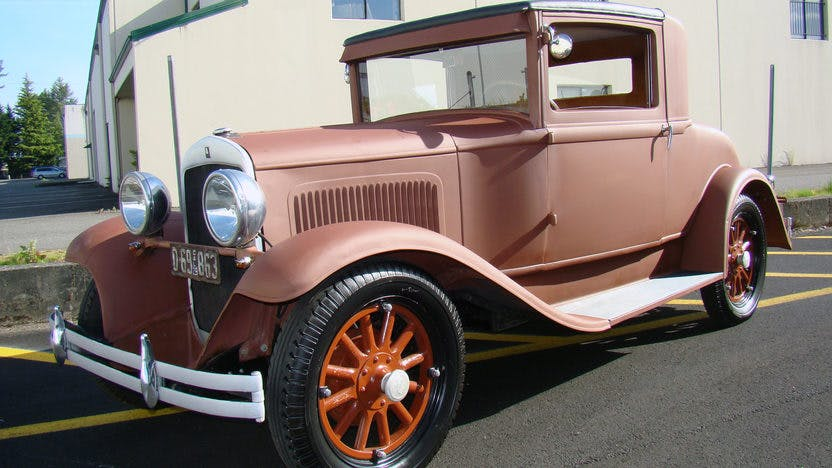 1929 Plymouth Coupe