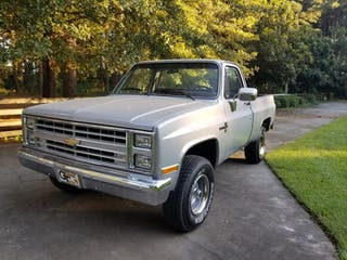 1985 Chevrolet K10 Sb Fleetside Scottsdale